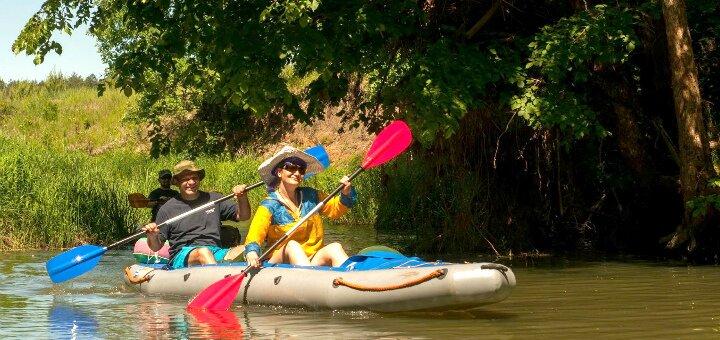 До 10 часов проката байдарок и каяков от клуба водного туризма «Active Rest» на Осокорках