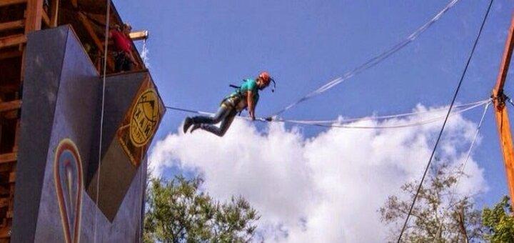 Скидка 50% на развлечения в «Башне приключений» и веревочном парке «HIP Park»