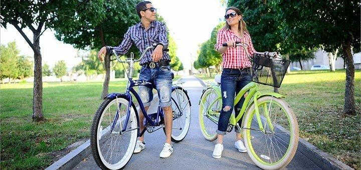 Скидка до 33% на прокат велосипеда от прокатно-экипировочного центра «Амигос Тур»