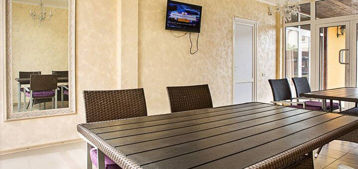 От 3 дней отдыха в новом отеле «Пальма» в Затоке на Черном море
