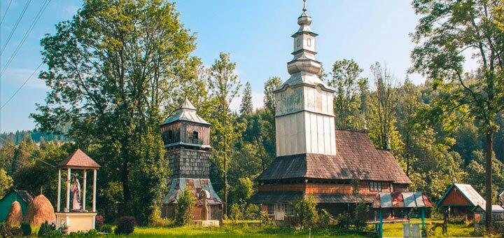 От 2 дней отдыха с питанием в отеле «Рассвет» на эко-курорте в Закарпатье возле подъемника
