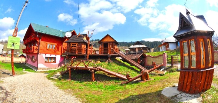 Рафтинг-тур для компании по Черемошу с проживанием и завтраками в комплексе отдыха «Скита»