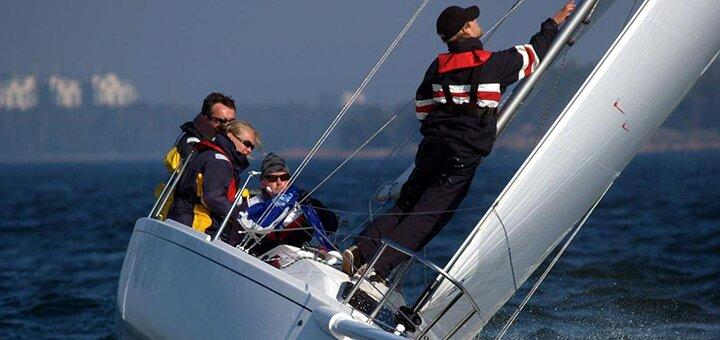 Скидка 50% на трехчасовую прогулку по киевскому морю на яхте с мастер-классом от «Я на Яхте»