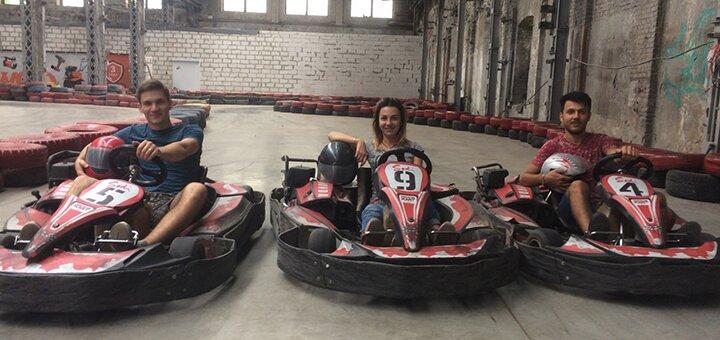 Скидка 70% на 15 кругов заезда в картинг-клубе «Rider Kart»