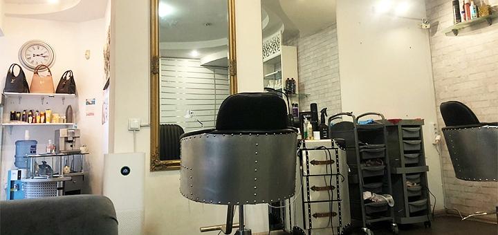 Стрижка горячими ножницами, кератиновое выпрямление и укладка в салоне «Ноготок»