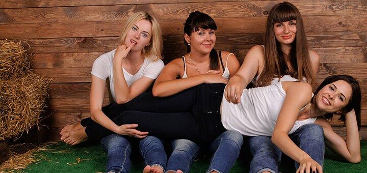 Профессиональная фотосессия для подруг от фотостудии «Zavarka»