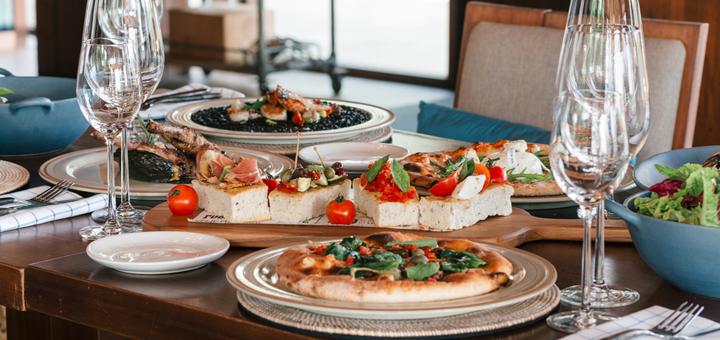 Скидка 30% на банкетное меню кухни и бара в «Al Forno Pizzeria»