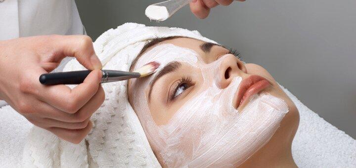 Комплексная 14-этапная чистка лица в студии косметологии «Sokolova beauty»