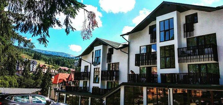 От 3 дней весеннего отдыха с завтраками в отеле «Bukville» в Буковеле