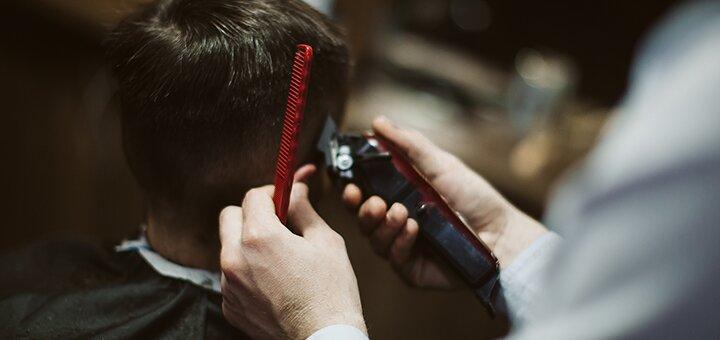 Мужская стрижка и коррекция бороды от барбершопа «Mr.Cash»