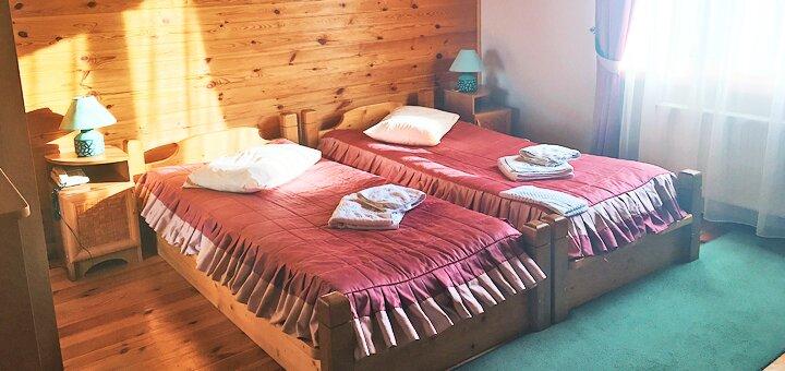 От 3 дней отдыха с питанием и пакетом дополнительных услуг в отеле «Смерекова Хата» в Славском