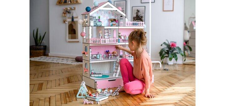 Дополнительная скидка 15% на весь ассортимент кукольных домиков NestWood, мебели и аксессуаров