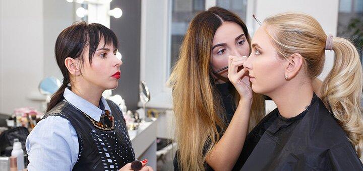 До 3 месяцев практического курса «Визажист-Профи» от школы «International Beauty School»