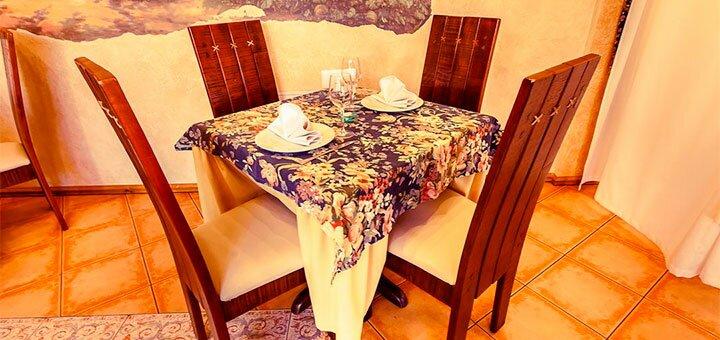 От 2 дней осеннего отдыха для двоих в отеле «Дворик Лева» в Трускавце