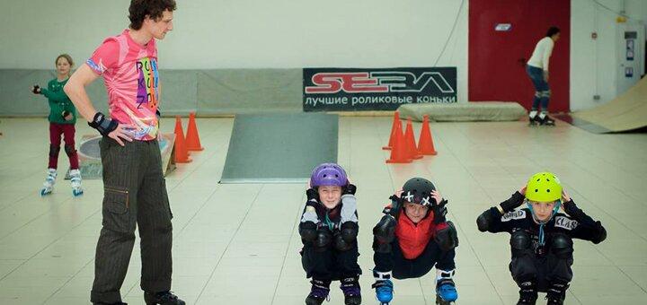До 2 часов проката и катания на роликах на роллердроме «Рола-Коло» со скейт-парком