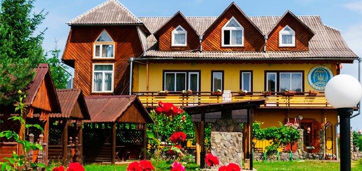 От 3 дней отдыха для компании в отеле «Писанка» в Карпатах
