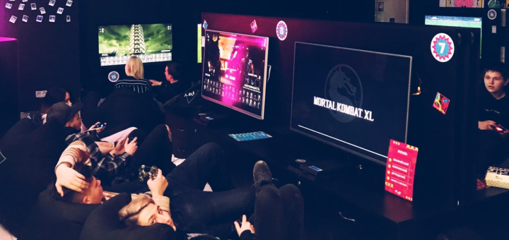 Скидка 50% на игру на PS 4 SLIM от игрового клуба «Play Zone»