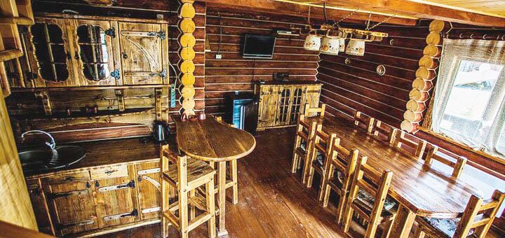От 4 дней отдыха с питанием и рыбалкой в усадьбе «Турянський Двір» в Закарпатье