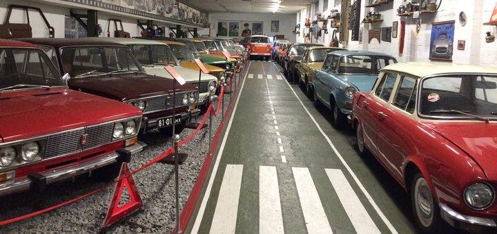 Скидка 50% на билеты на посещение выставки ретро-автомобилей в музее техники «Фаэтон»