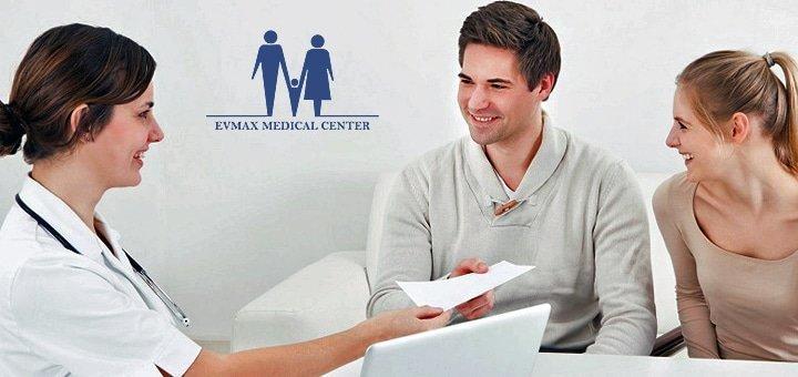 В здоровье счастье! Обследование у гинеколога/уролога в медицинском центре «Евмакс»!