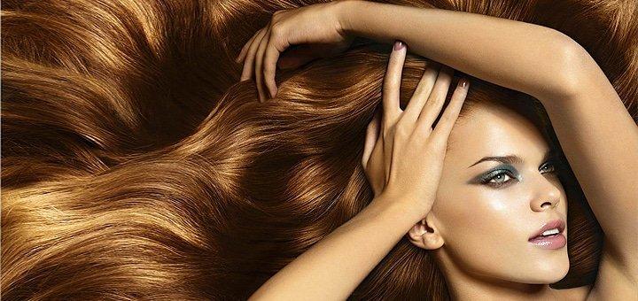 "Стрижки, уход, окрашивание волос в салоне красоты ""Dali Deluxe"" со скидкой до 69 %!"