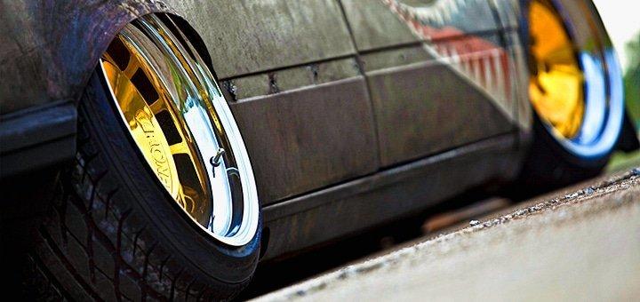 Время переобуваться! Шиномонтаж 4 колес разного радиуса для легкового авто и внедорожника на автостанции «Ангар»!