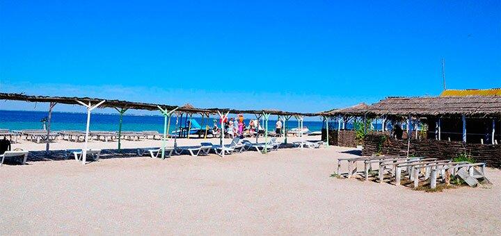 От 3 дней отдыха в июне в пансионате «Волна» в Скадовске на берегу Черного моря