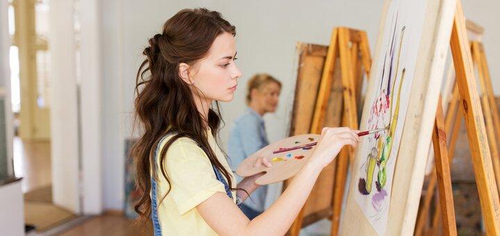 Мастер-класс «Art Girl party» от школы искусств «Farbe art club»