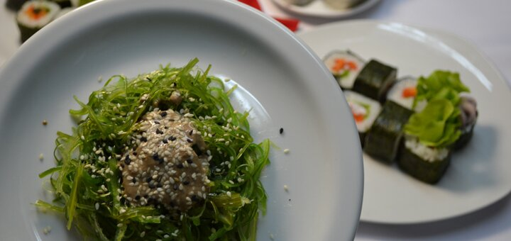 Скидка 50% на все меню японской кухни с доставкой и самовывозом от компании «Два пирата»