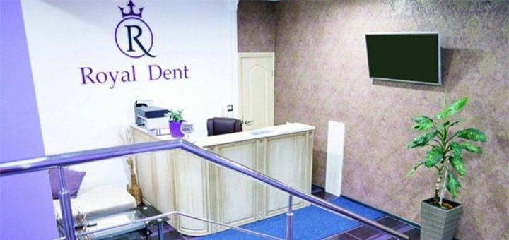 Аппаратное отбеливание зубов Beyond с чисткой и фторированием в стоматологии «Royal Dent»