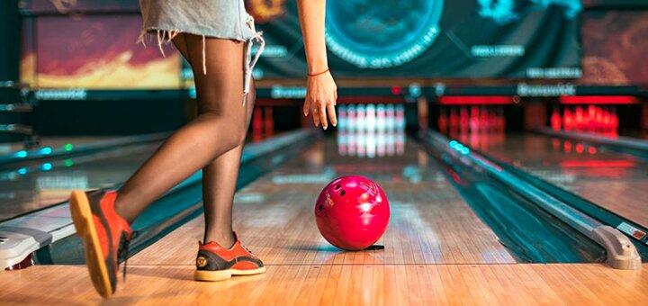 Знижка 50% на гру в боулінг у боулінг клубі «Десятка» в центрі сімейного дозвілля «Булька»