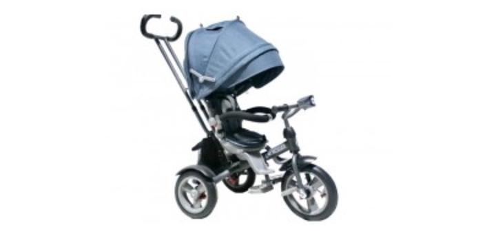 Cкидка 11% на детский трехколесный велосипед-коляска crosser T-503 Air Eco