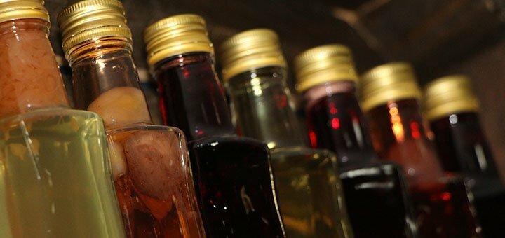 Скидка 50% на две бутылки крафтовых настоек в крафт баре «Drunk Cherry Bar»