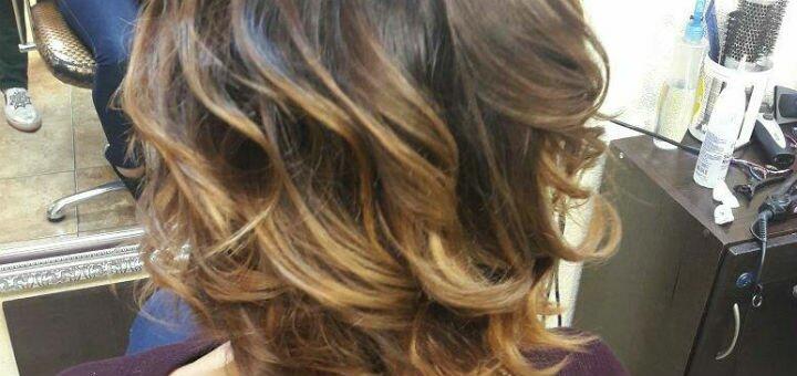 Химическая завивка или биозавивка и укладка волос в студии красоты Тины Хиврич