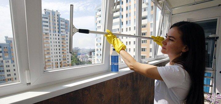 Мойка окон и балконов от клининг-сервиса «CFservice»