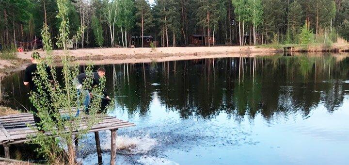 Рыбалка в рыболовном комплексе «KVADRO-DRIVE гриль-парк» под Киевом