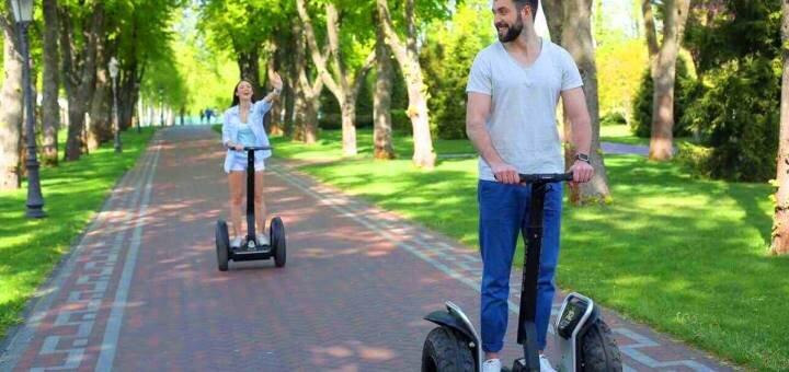 Скидка 50% на прогулки на оригинальных электросамокатах Segway по Софиевке от «Green Wheels»