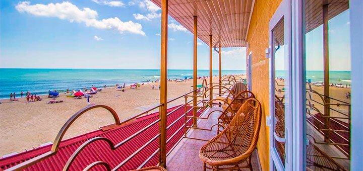 От 3 дней отдыха в бархатный сезон в отеле «Гармония» в Затоке на первой линии моря