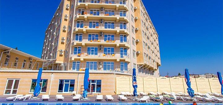 От 4 дней отдыха в июне и июле в отеле «Crystal Hotel» на первой линии моря в Коблево