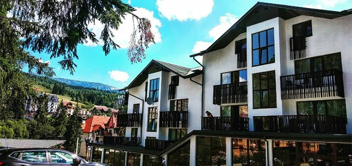 От 3 дней летнего отдыха с трехразовым питанием в отеле «Bukville» в Буковеле