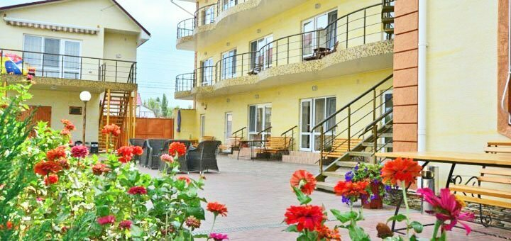 От 3 дней отдыха в сентябре в отельном комплексе «Адам и Ева» в Затоке на Черном море