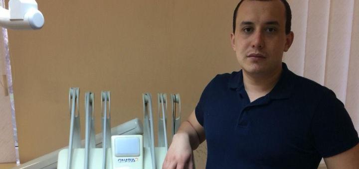 Скидка 61% на профессиональную ультразвуковую чистку зубов от Максима Рудого