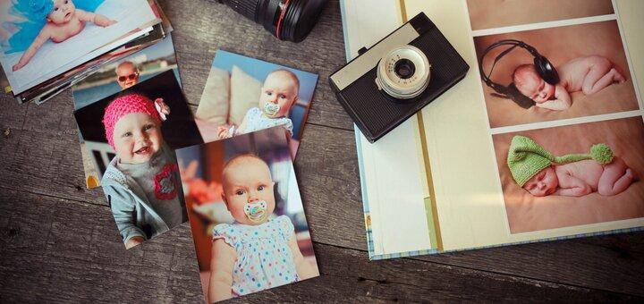 Лабораторная печать до 100 фотографий различных форматов от студии фотопечати «Фото Фабрика»