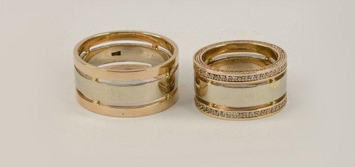 Скидка на все женские изделия из золота и серебра