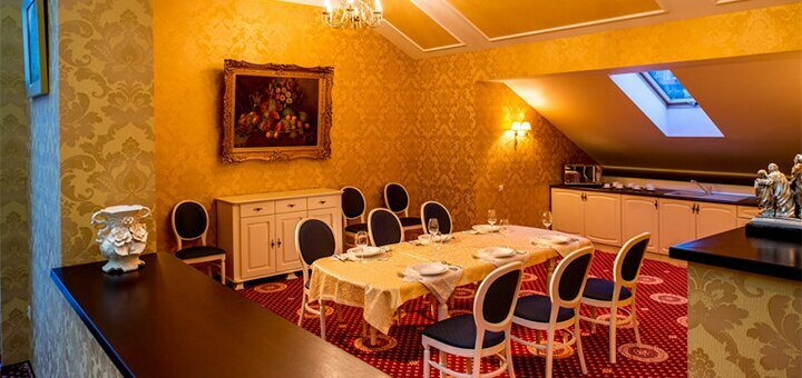 От 3 дней отдыха All Inclusive с питанием и SPA в отеле «Киевская Русь» 4* в Сходнице