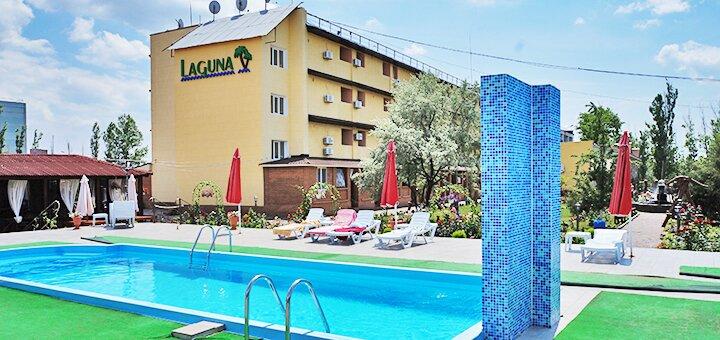 От 6 дней отдыха летом в отеле с бассейном «Лагуна» в Коблево