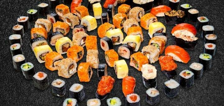 Скидка 40% на суши-сет «Банзай» от службы доставки «Set 24»