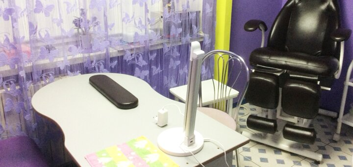 Женский классический маникюр и педикюр с покрытием гель-лаком в салоне красоты «Aкв@риум»