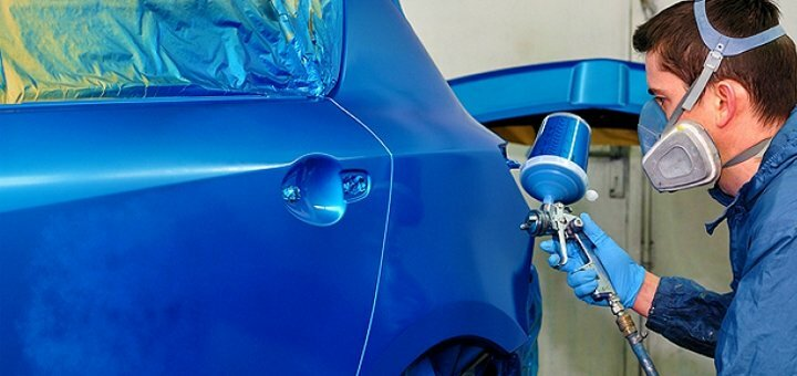 Покраска 1 или 2 любых кузовных деталей автомобиля в техстанции «Garant CTO»