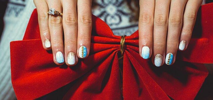 Маникюр с покрытием гель-лаком, наращивание ногтей в студии ногтевой эстетики «Nails Getman»